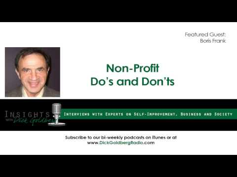 Non-Profit Do's and Don'ts