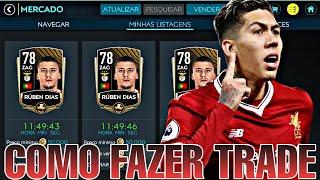 COMO FAZER TRADE E FICAR RICO NO FIFA 20 MOBILE