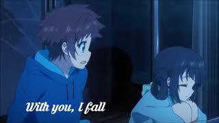 AMV sad song Nagi no Asukara with lyrics