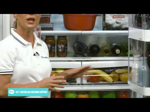 LG GF-D613SL 613L French Door Fridge appliance overview by product expert - Appliances Online