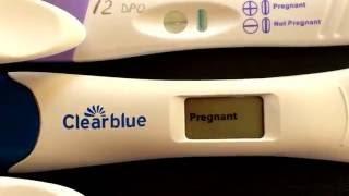 видео на каком сроке беременности тест показывает отрицательный результат