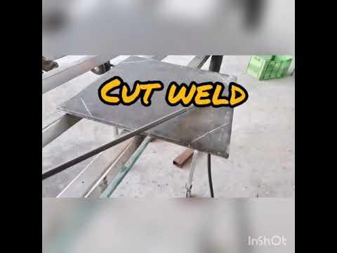 Corte Plasma Vs. Cut Weld Electrodo