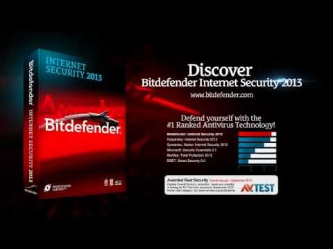 Bitdefender Internet Security 2013. PC MAG Highly Rated.