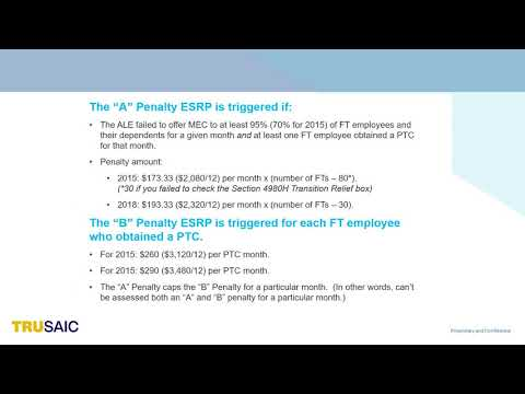 What is the 4980Ha Penalty - Webinar - Trusaic
