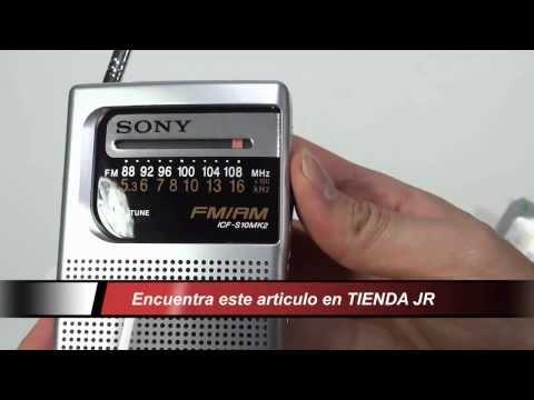 Radio Receptor Am Fm Portatil Sony Icf-s10mk2 De Bolsillo Review Unboxing