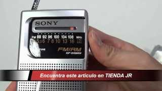 Radio Receptor Am Fm Portatil Sony Icf-s10mk2 De Bolsillo Review Unboxing