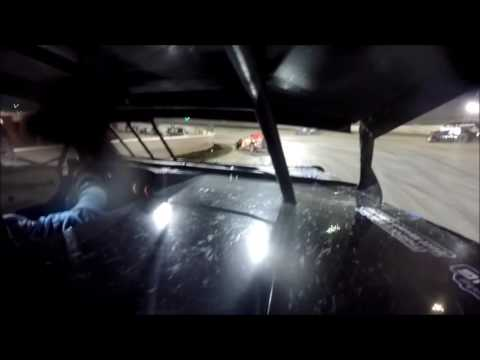 GoPro In-Car Camera with the #42 of Clint Young for UMP Pro Modified Feature at I-55 Raceway 8/20/16