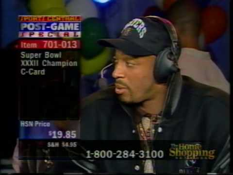 Brian Collard Hosting Super Bowl XXXII Live Remote from San Diego with Irving Fryar Interview