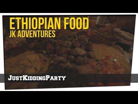 Ethiopian Food - JK Adventures
