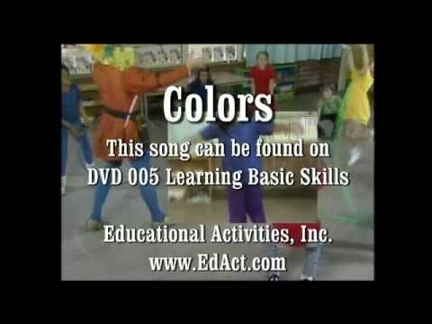 Colors - Learning Basic Skills DVD - Hap Palmer