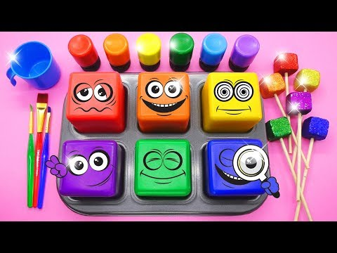 Learn Colors for Children, Toddlers, Baby with Nursery Rhymes