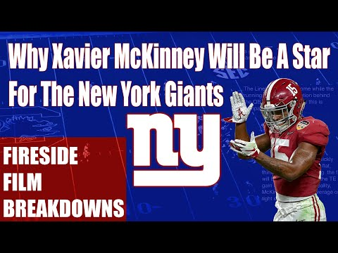 Why Xavier McKinney Will Be A Star For The NY Giants (Film Breakdown)