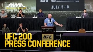 UFC 200 Press Conference