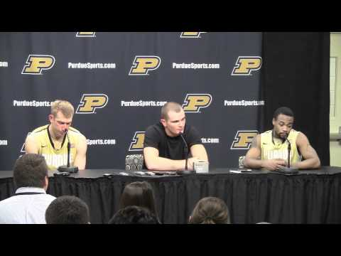 Purdue vs. Indiana University Players Press Conference