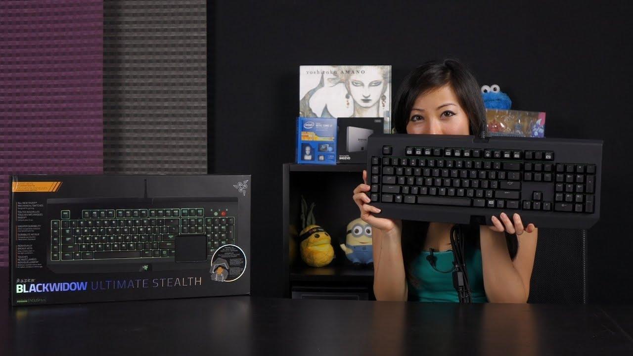 Razer Blackwidow Ultimate Stealth 2014 Mechanical Gaming Keyboard