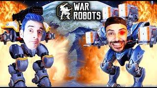 WAR ROBOTS - MI ROBOT ESTÁ ROTISIMO!! 🤣🤣 - Nexxuz