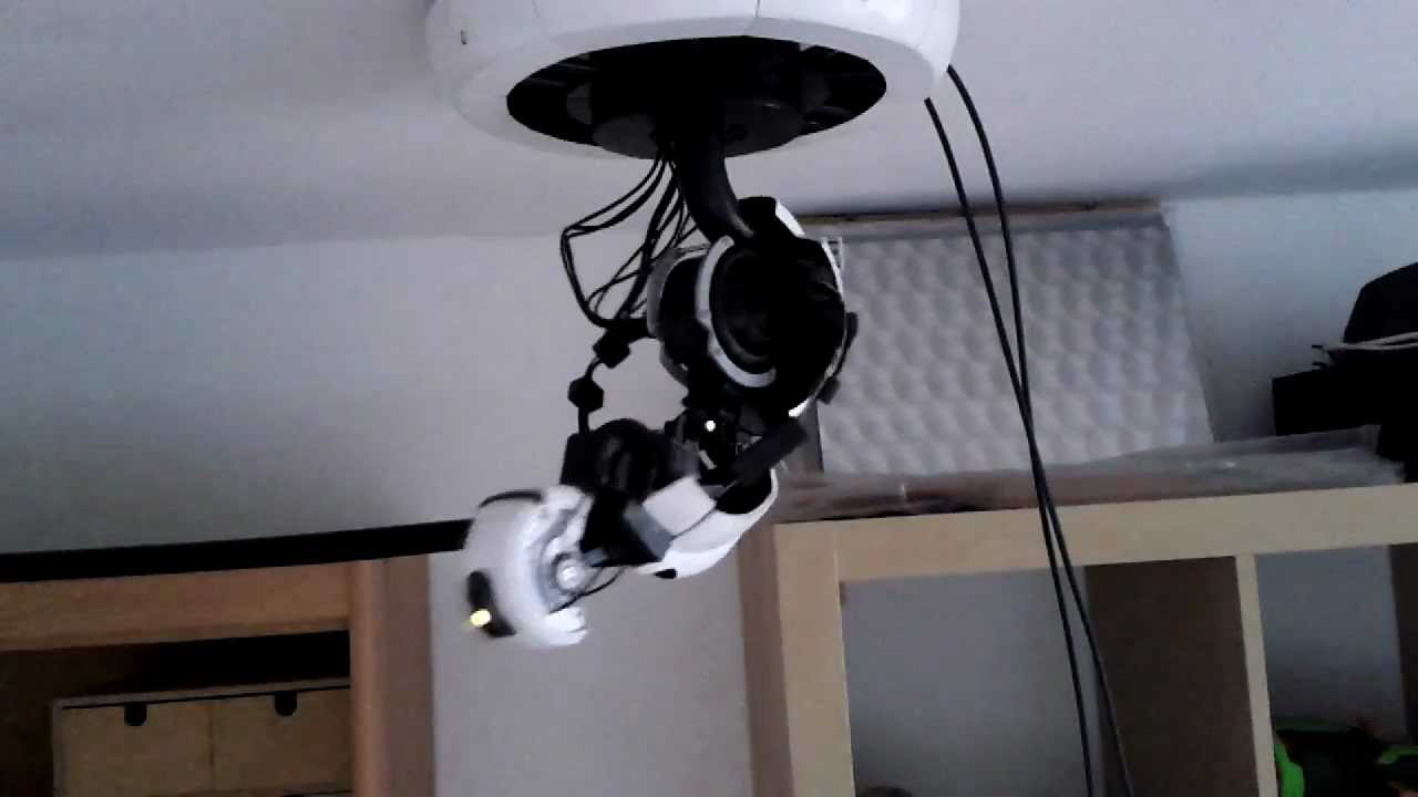 Moving glados lamp youtube aloadofball Choice Image