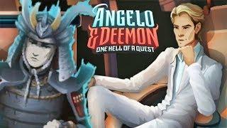 САМЫЕ НЕОЧЕВИДНЫЕ ЗАГАДКИ ► Angelo and Deemon #5