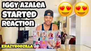 Iggy Azalea - Started (Official Music Video) -  Reaction