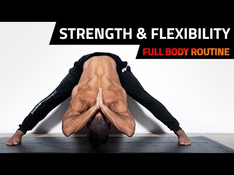 Yoga For Calisthenics Athletes | Strength, Flexibility & Stability Routine (Follow Along) ALL LEVELS