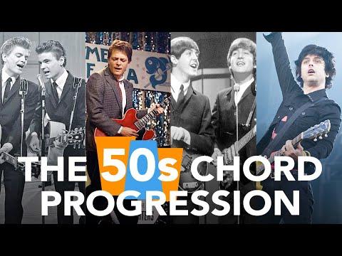 The 50s Chord Progression // Popular Guitar Chord Progressions
