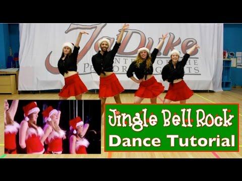 Jingle Bell Rock - Mean Girls (Dance Tutorial)