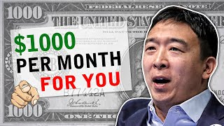Freedom Dividend Explained | $1000 per Month for All Americans?  | Andrew Yang 2020
