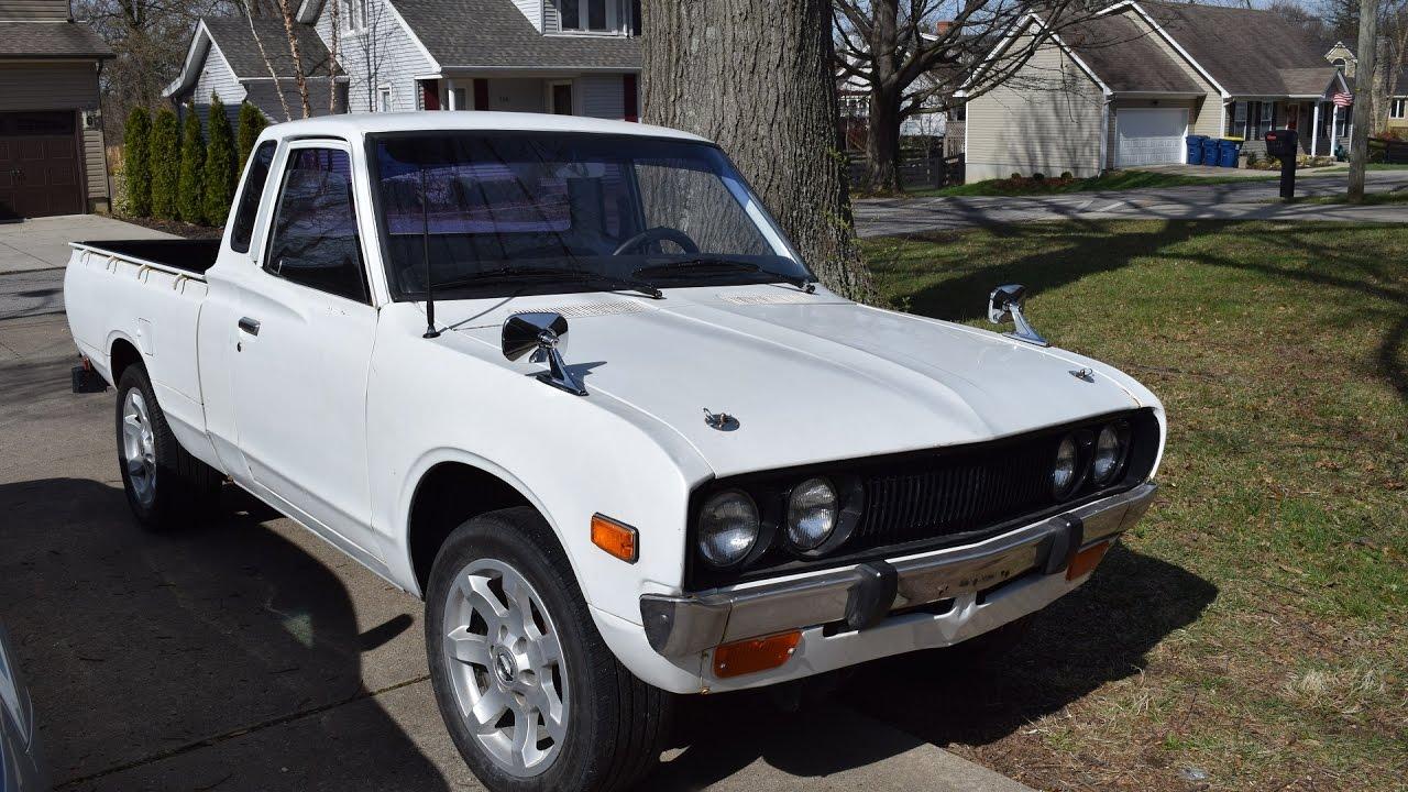 1977 Datsun 620 Walk Around - YouTube