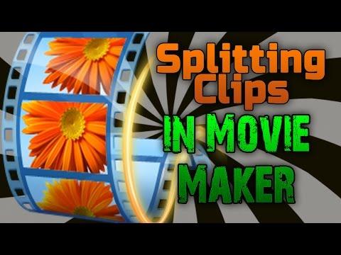 How to Split Clips in Movie Maker
