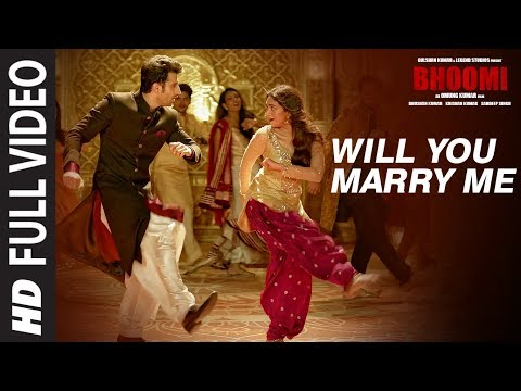 Thumbnail: Will You Marry Me Full Video Song | Bhoomi |Aditi Rao Hydari, Sidhant | Sachin - Jigar |Divya&Jonita