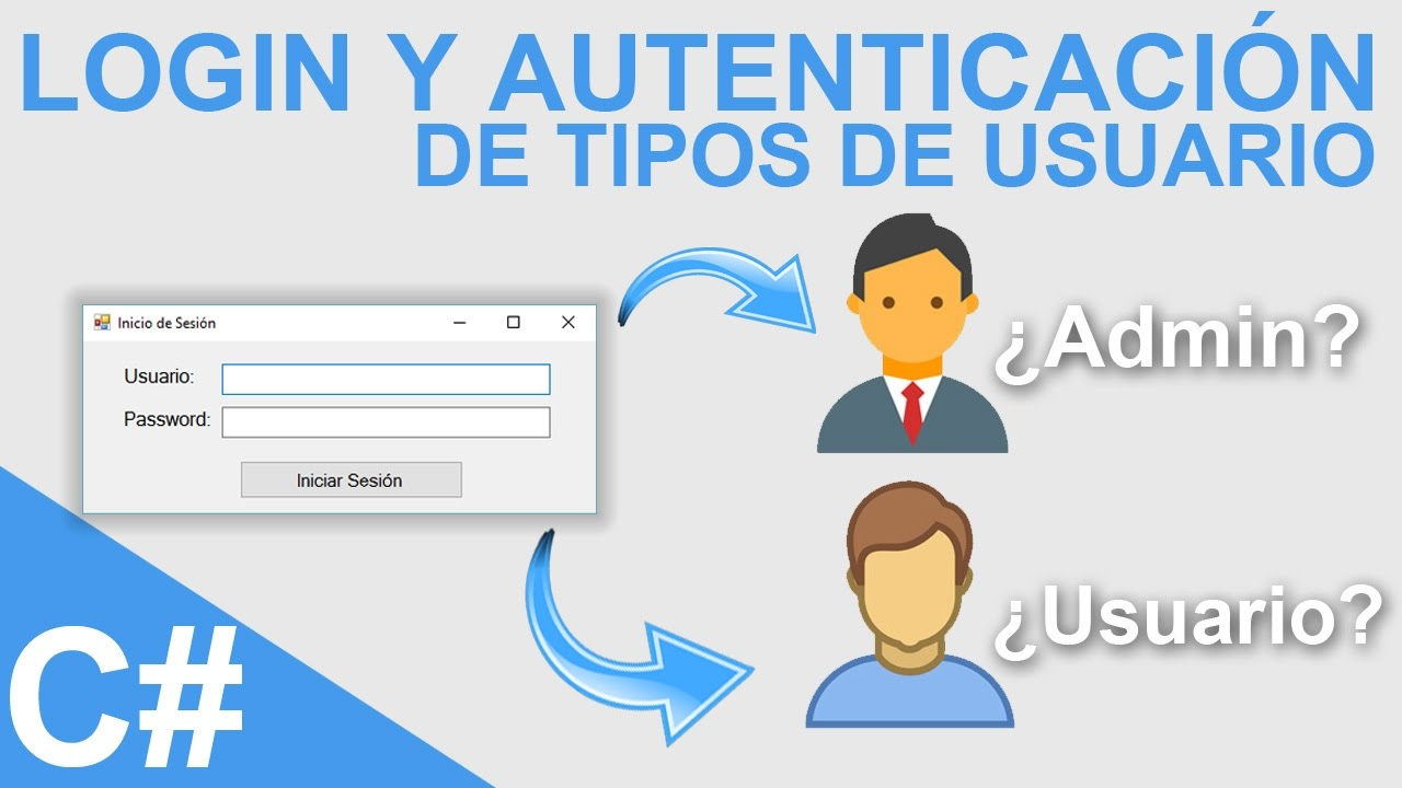 Login y autenticaci n de tipos de usuario con visual c y - Tipos de estores para salon ...