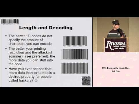 DEF CON 16 - FX: Toying with Barcodes