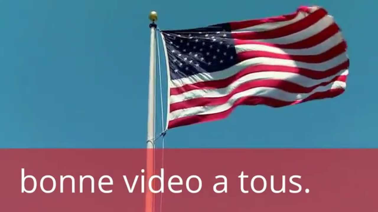 Drapeau de l 39 amerique youtube - Drapeau de l amerique ...