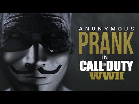 ANONYMOUS PRANK in Call of Duty: WWII | Ep.6 (prod by. Austrian)
