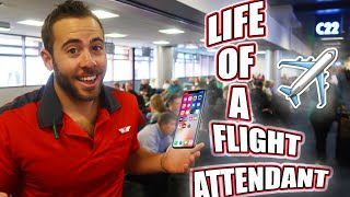 THE LIFE OF A FLIGHT ATTENDANT Ep.12 | PHONE NUMBERS | VLOGMAS DAY 4