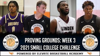 The Proving Grounds LIVE | Week 3 | 2021 Small College Challenge