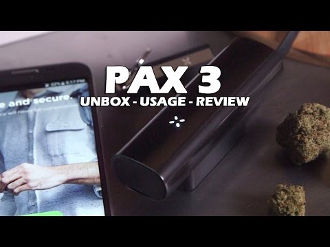 PAX 3 Dry Herb & Marijuana Extract Vaporizer (Unboxing, Usage & Review with Cannabis)