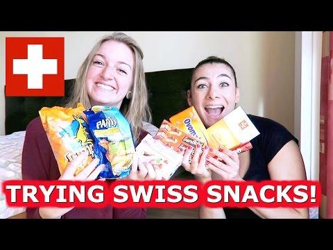 CANDY TASTE TEST - SWITZERLAND! | ENTERPRISEME TV