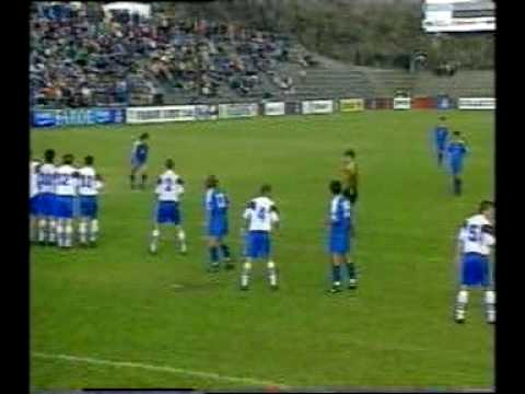 Faroes - Slovakia 1-2. 1998 World cup qualifiers. Peter Dubovský final word
