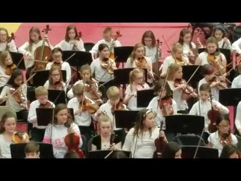 5th grade Strings concert.