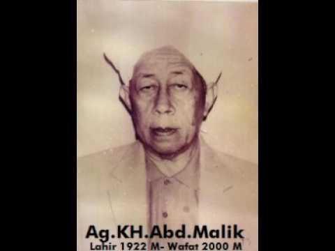 Ceramah Ag.KH.Abd Malik Muhammad.(Ulama Besar Sulsel)
