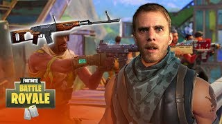 Hunting Rifle or Scoped Bolt-Action? (Fortnite Battle Royale)