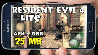 [25 mb] Resident Evil 4 Lite Download For Android