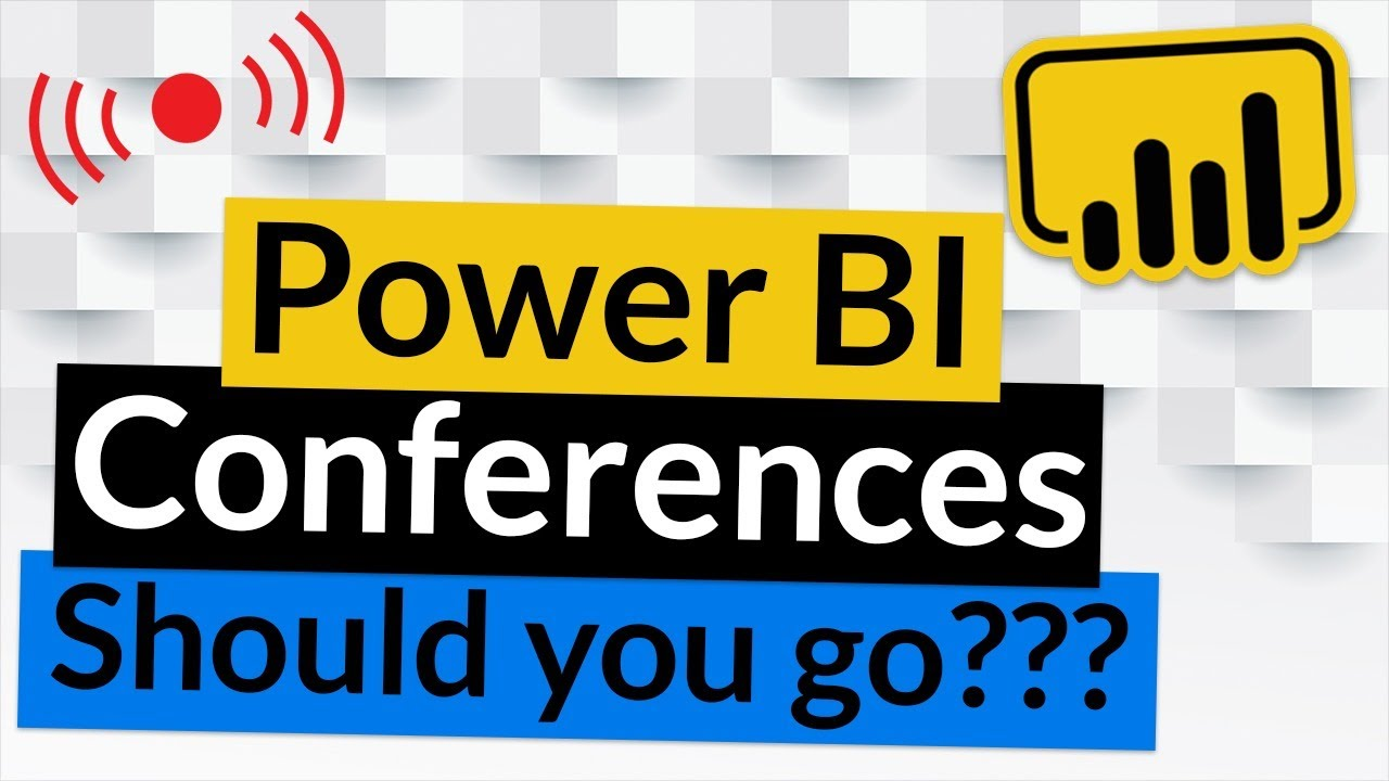 Download Should you go to Power BI conferences?