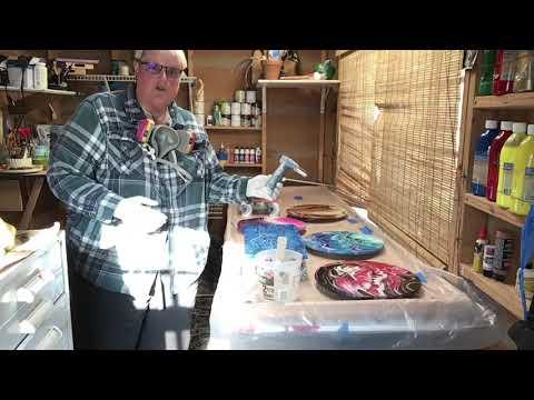 Part 2: How I resin my artwork using Counter Culture DIY Art Resin