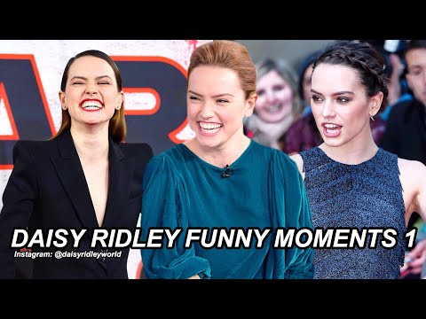 Daisy Ridley Funny Moments Part 1!
