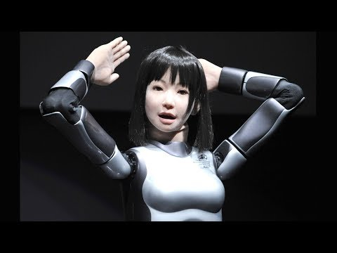 HRP-4C (Miim) Is Female humanoid Robot Can Sing Walk & Dance So Well.