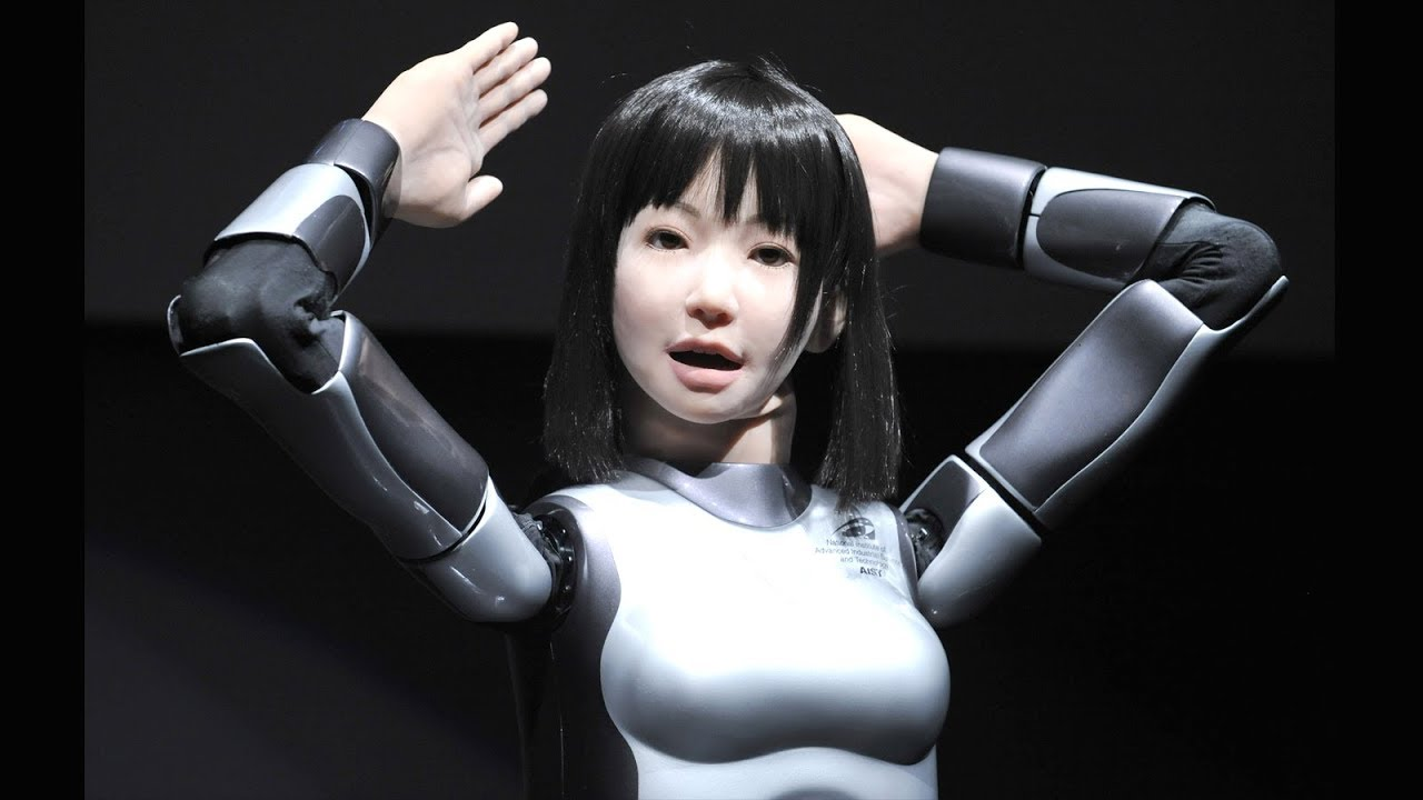 HRP-4C (Miim) Is Female humanoid Robot Can Sing Walk & Dance So Well.