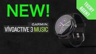 Announcing the NEW Garmin Vivoactive 3 MUSIC