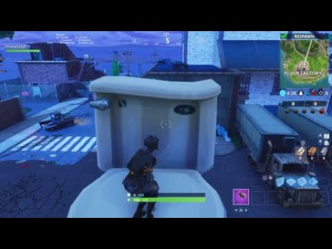 Dance On Top Of A Giant Porcelain Throne Fortnite Season 6 Week 4